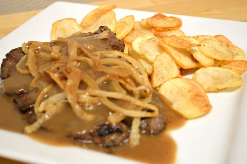 AUSTRIAN ROAST BEEF WITH ONIONS