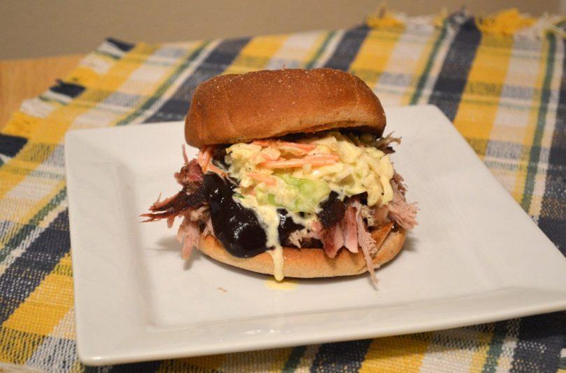 King PUlled Pork Sandwich