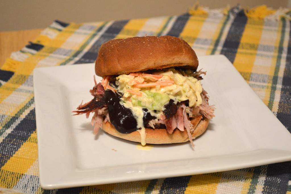 King PUlled Pork Sandwich