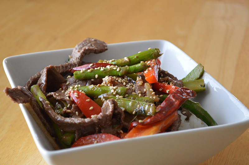 Beef and Asparagus Stir Fry – CHina