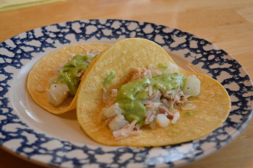 Guatamalan Chicken Tacos