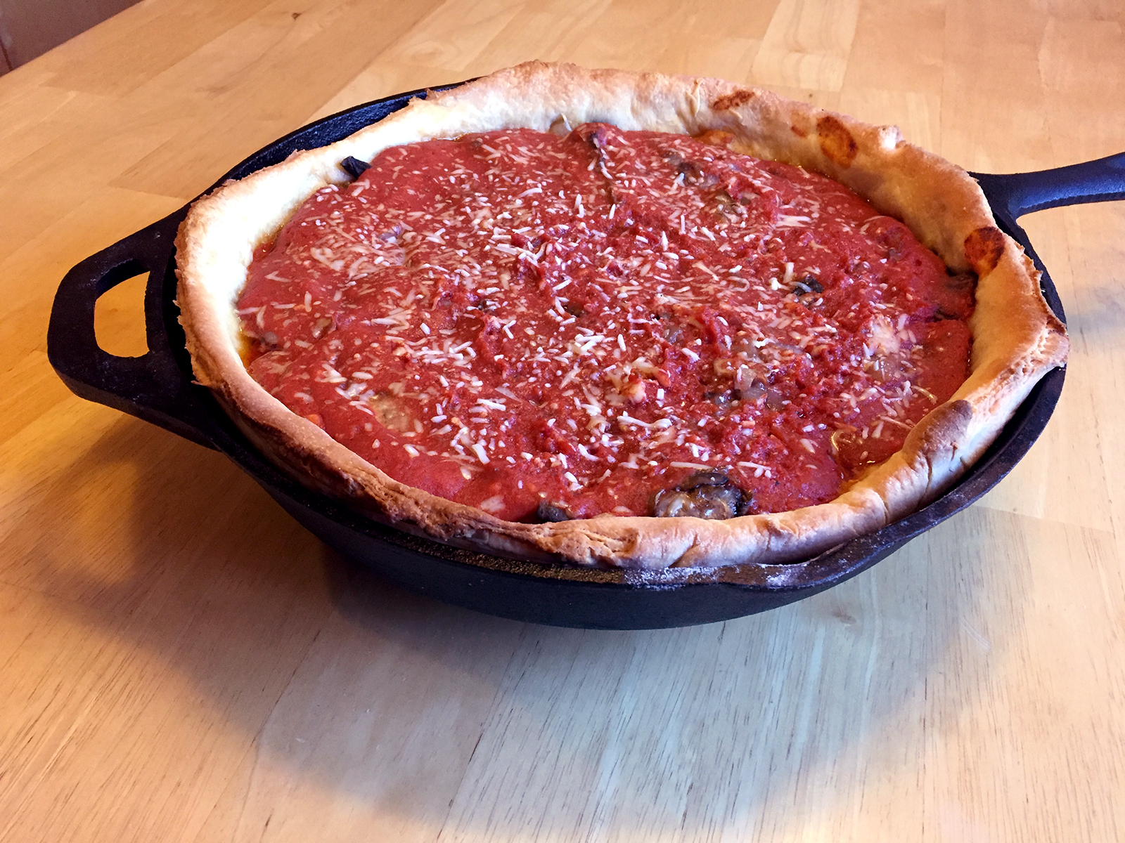 Authentic Chicago Pizza Recipe