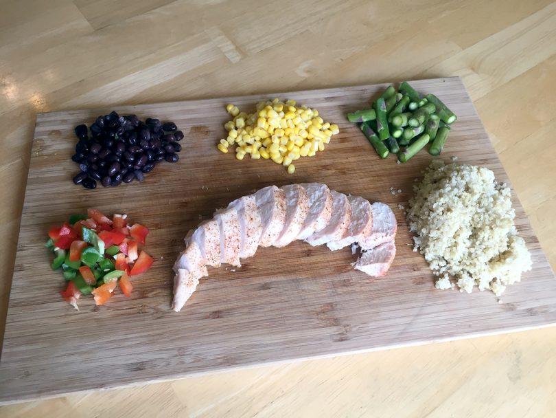 Chicken Quinoa Bowl: Meal Prep