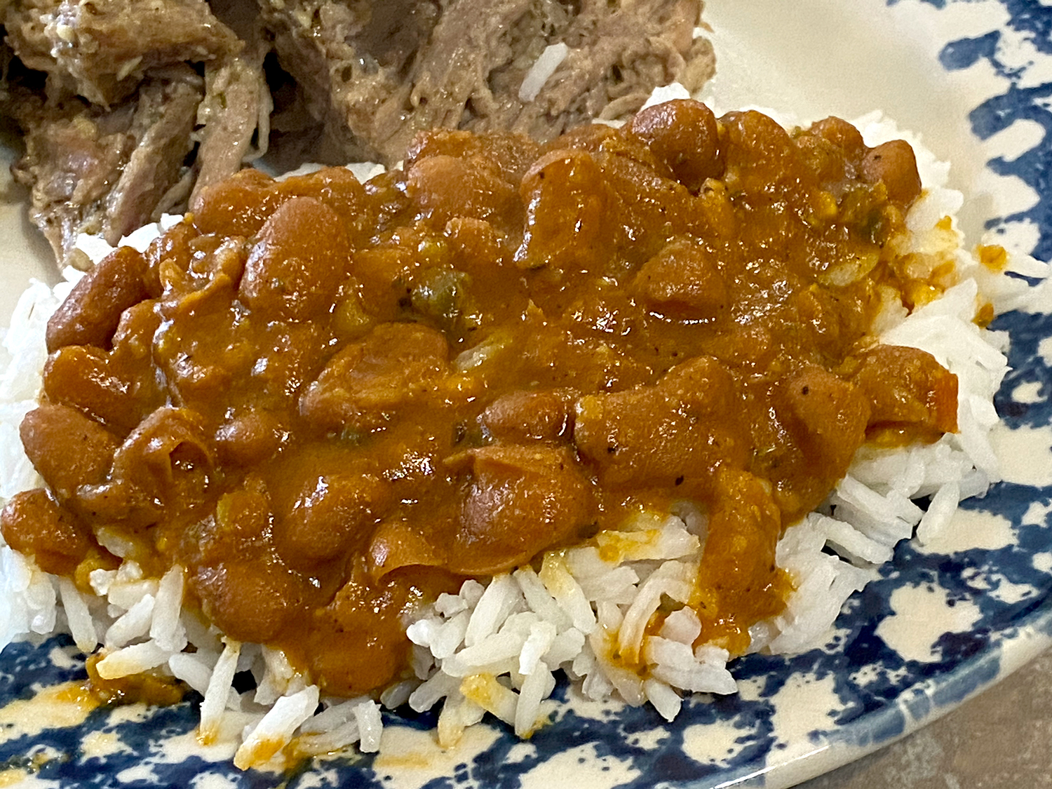 Puerto Rican beans with rice