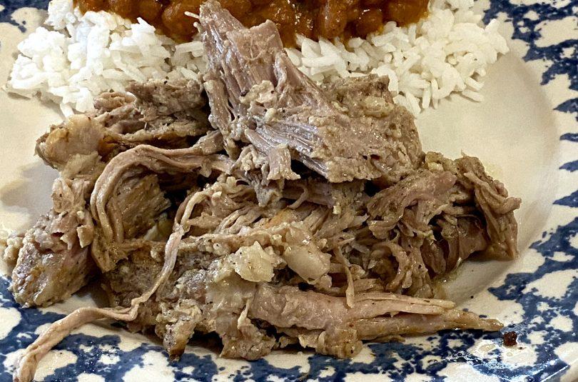 Puerto Rican Pulled pork